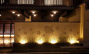 花かんざし 松井別館 入り口