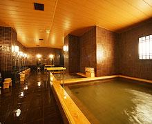 疲れた体を癒す ゆったりとした大浴場 イメージ