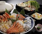 海鮮鍋 新鮮魚介類