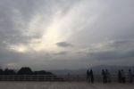 空高くから京を眺めて・・