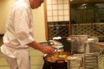 おすすめは、揚げたて天ぷらと握りたて寿司!